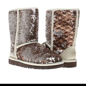 Ugg Classic Sequin boots 8